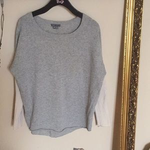 VINCE Scoop-neck Sweater